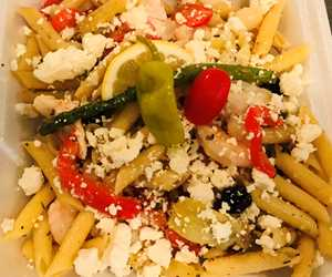 Daily Special: Greek Seafood Pasta